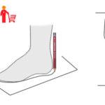 Измеряем длину стопы