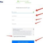 Create Account mediafire