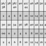 таблица соответствия размеров джинс